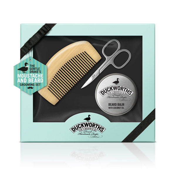 Beard and Moustache Grooming Gift Set